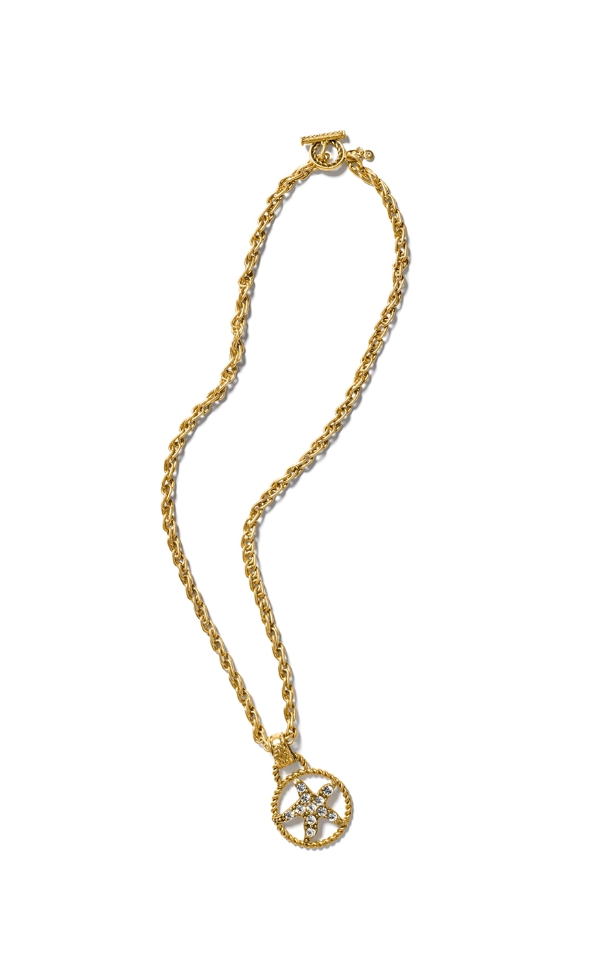 cabi's Starfish Medallion Necklace