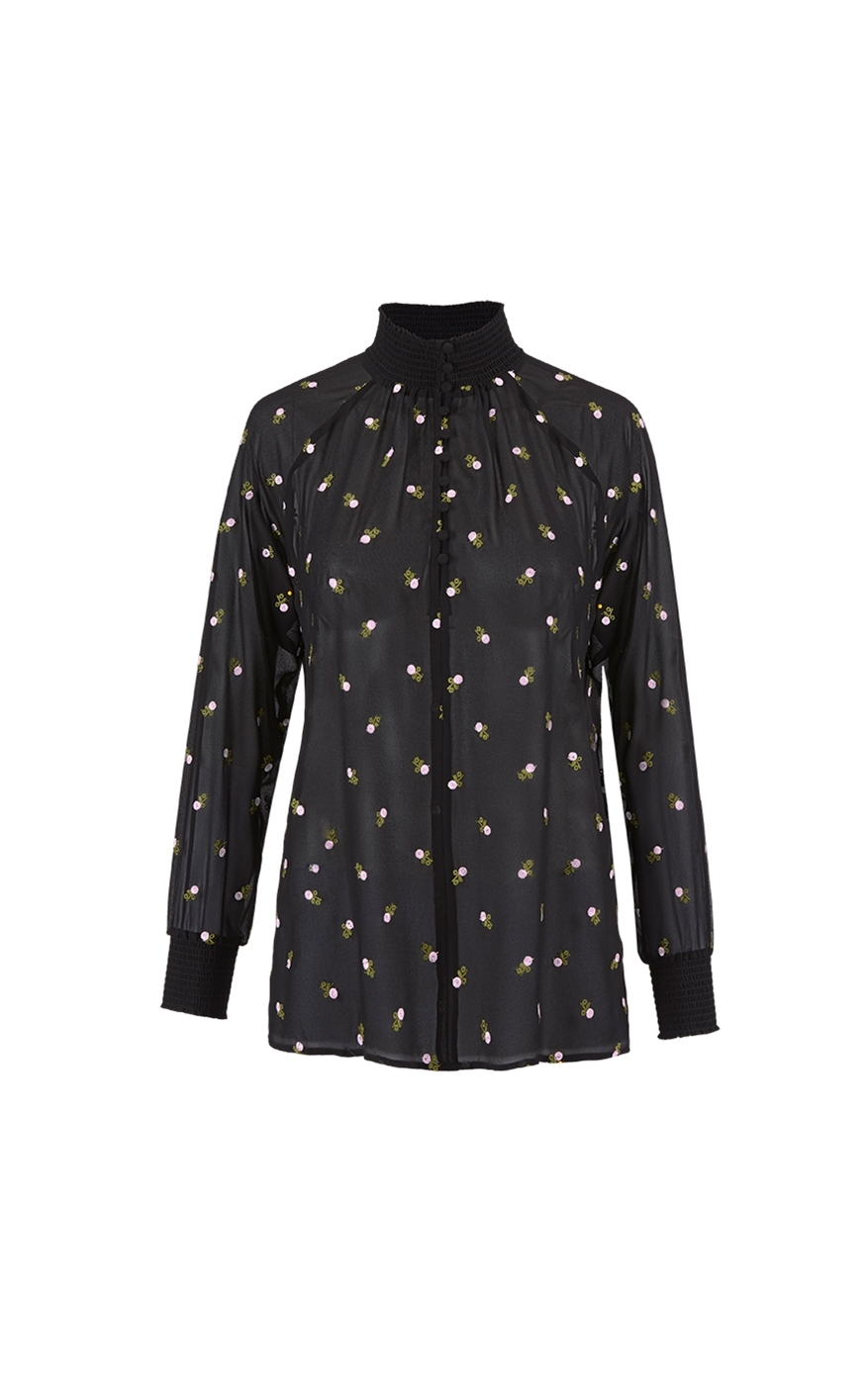 cabi's Embroidered Blouse